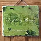Irish Welcome Personalized Slate Plaque