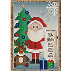 Personalized Santa's Nice List Tapestry Throw Blanket