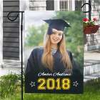 Graduation Photo Garden Flag