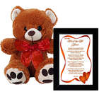 Love of My Life Poem with Teddy Bear