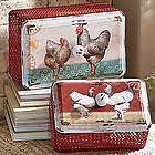 Rooster Storage Boxes
