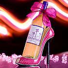 Girl's Best Friend Moscato Wine in Pink Shoe Wine Holder