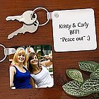 Picture Perfect Friends Personalized Key Ring