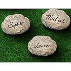Small Personalized Garden Stepping Stone
