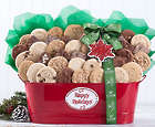 Cookie and Brownie Happy Holidays Gift Basket