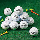 One Dozen Zero Friction Personalized Golf Balls