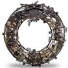 Wine Cork Cage Wreath