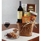 Grapevine Wine and Cheese Gift Basket
