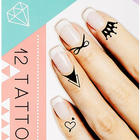 Simply Stated Nail Cuticle Tattoos