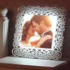 Custom 10x10 Framed Photo Light