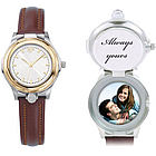 Ladies Metropolitan Keepsake Watch with Secret Compartment