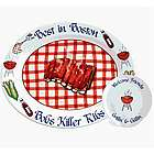 Personalized Barbecued Ribs Platter