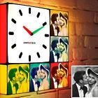 Personalized 10x10 Photo Light Clock