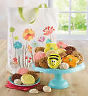 Cookies and Sweets in Spring Flowers Tote
