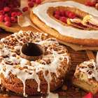 Raspberry Kringle and Pecan Cheese Coffee Cake