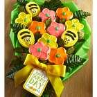 Have a Sunny Day Spring Frosted Long Stemmed Cookie Flowers