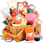 Mandarin Orange Bath Products Mother's Day Gift Basket