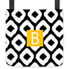 Personalized Clairebella Ikat Tote Bag