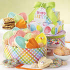 Easter Gift Tin Tower of Cookies and Treats