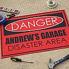 Personalized Custom Floor Mat - Danger Design