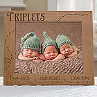 Triplet Love 8x10 Personalized Frame
