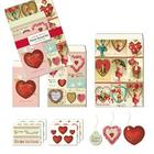 Victorian Valentine Petite Parcel Gift Wrapping
