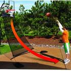 Basketball Hoop Ball Return System