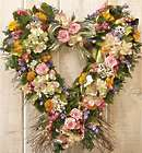 Garden Heart Wreath