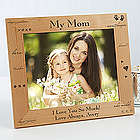 What You Mean To Me Engraved Wood 8x10 Picture Frame