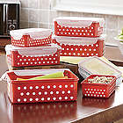 Polka Dot Lock Storage Set