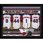 Personalized Los Angeles Angels MLB Locker Room Print