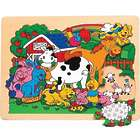 Farm Animals Wooden Jigsaw Puzzle
