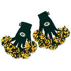 Woman's Green Bay Packers Spirit Fingers Gloves