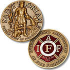 St. Florian Coin For Firefighters