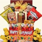 Happy Birthday Sweets and Treats Birthday Gift Basket