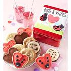 Bugs and Kisses Valentine's Day Cookie Tin