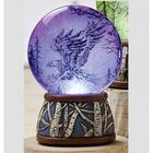 LED Eagle Wildlife Water Globe