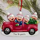 Personalized Family Truck Ornament