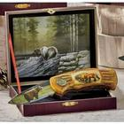 Personalized Wildlife Bear Collector's Knives