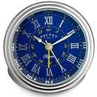 Clipper Blue & Yellow Travel Alarm Clock