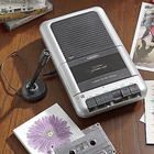 Shoebox-Style Cassette Player/Recorder
