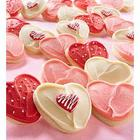 Buttercream Frosted Valentine's Day Cookies