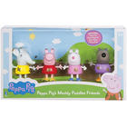 Peppa Pig Figurines Muddy Puddles Friends Toys