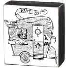 "Happy Camper Color It 10"" Box Sign"