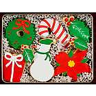 Merry Christmas Hand-Decorated Cookies