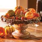 Acorn Pedestal Bowl
