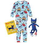 Pete the Cat Gift Set: Cotton Blue Pajamas, Book, and Toy