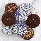 8 Halloween Decorated Brownies