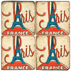 Paris Mable Coaster Set