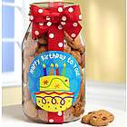 You Take the Cake Happy Birthday Cookies Jar